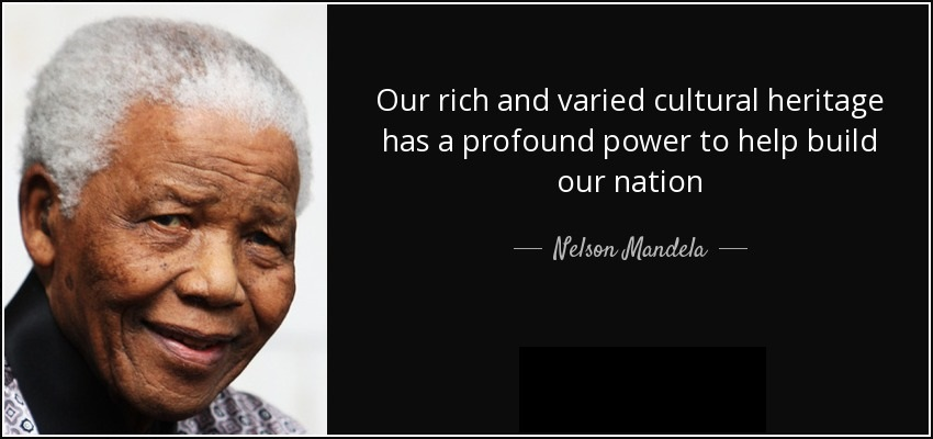 Happy Nelson Mandela Month