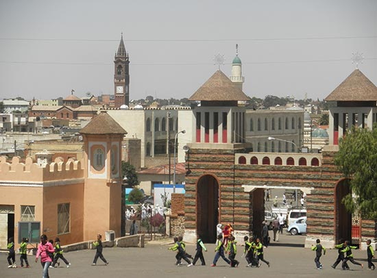 Asmara, a Modernist City of Africa in Eritrea